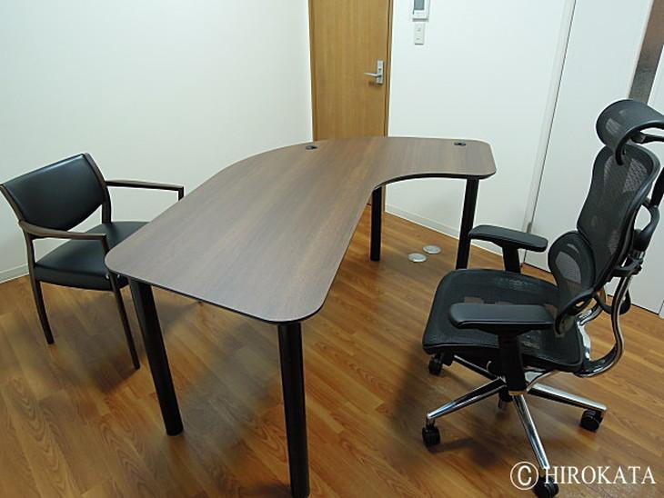 ミーティングテーブルのメラミン天板