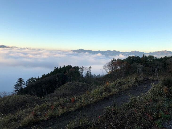 雲海の久万高原町