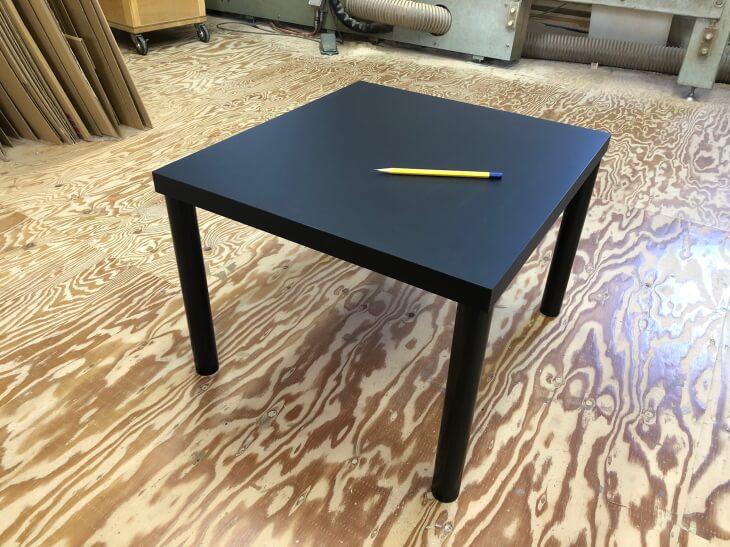 脚付き展示台(テーブル型)脚無し展示台のオーダーメイド
