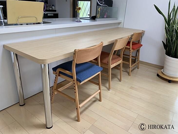 失敗しない新築のカウンターテーブルはオーダーメイドがおすすめです。