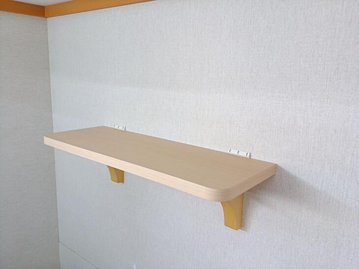 神棚 棚板 壁に簡単に取り付けできます【クロス壁と板壁】
