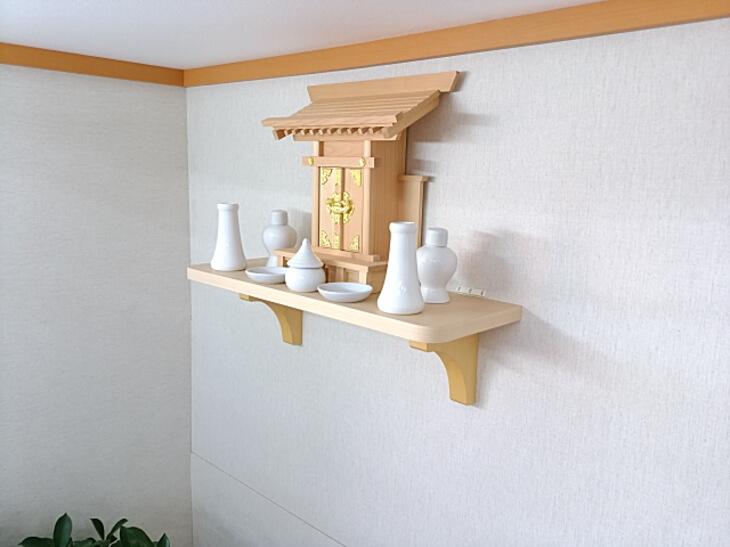 神棚 棚板 おしゃれなデザインで取り付け簡単