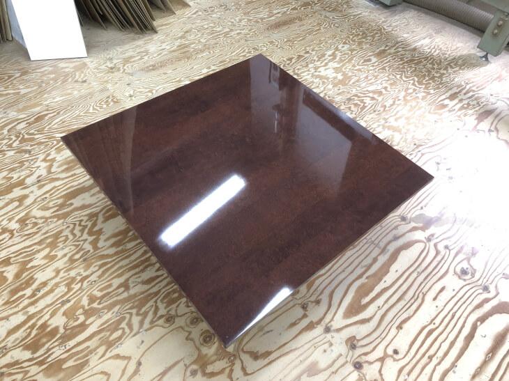 アイカメラミン化粧板鏡面マホガニーSAI-299KMダイニングテーブル天板