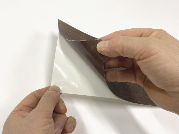 テーブル天板リメイクシート メラタック両面テープ付き