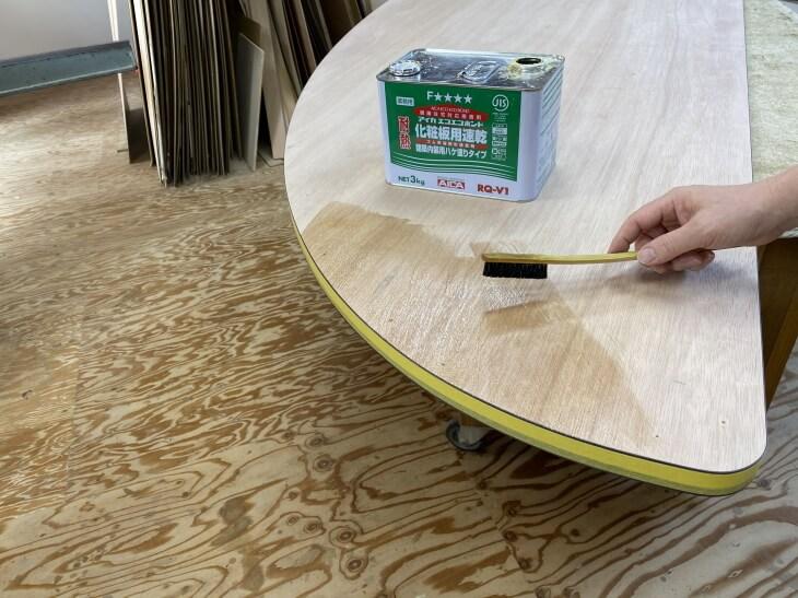 メラミン化粧板の貼り方 接着方法を熟練家具職人が解説【DIY必見内容です】