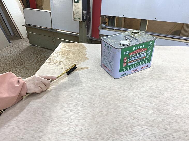 アイカエコエコボンド化粧板用速乾接着剤