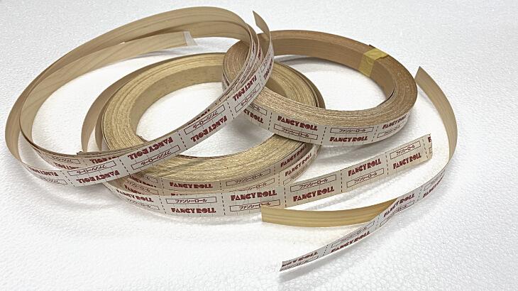 ファンシーロール木口テープの貼り方